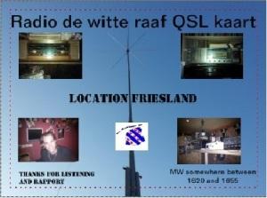 QSL Witte Raaf
